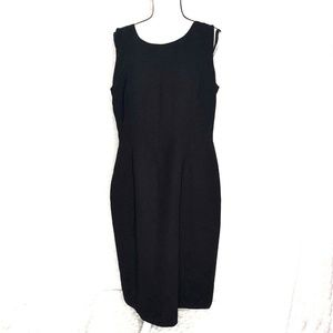 Evan Picone Womens sz 16 Little Black Dress